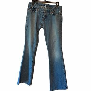Lucky Brand lil Maggie flare jeans size 6 or 28